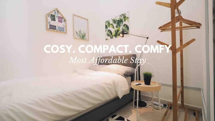 ☆ Cosy Room 03 ☆ 5 Mins Walk Curve, MRT, IKEA