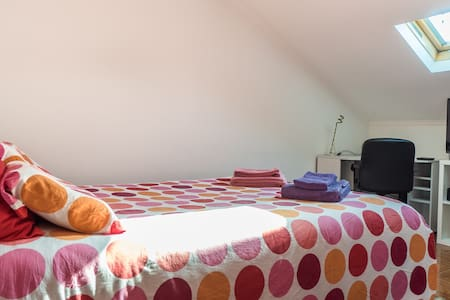 Large private room w/ ind. bathroom - Lisboa - Appartamento