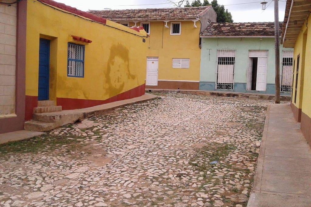 Callejon del Pimpollo corner with Callejon de la Cañada