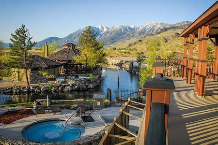 2 bdrm David Walleys Hot Springs - Apartament