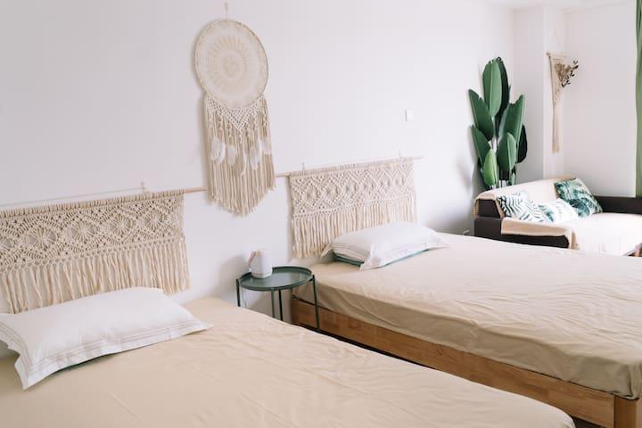 绿巢 Green nest 天坛东门红桥附近 【极简波西米亚】自然温馨 独立小公寓