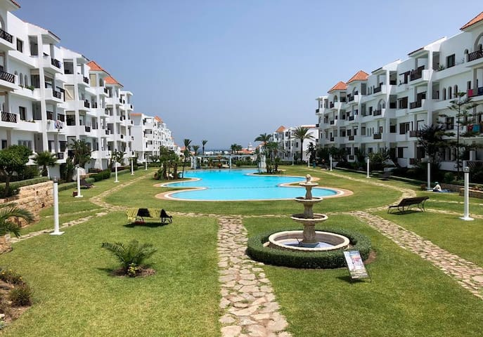 Ferienwohnung/App. für 6 Gäste mit 80m² in Résidence Les Jardins de Cabo, Cabo Negro Tetouan, Maroc (122096)