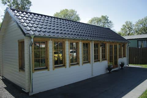 Tiny house op De Friese Wadden