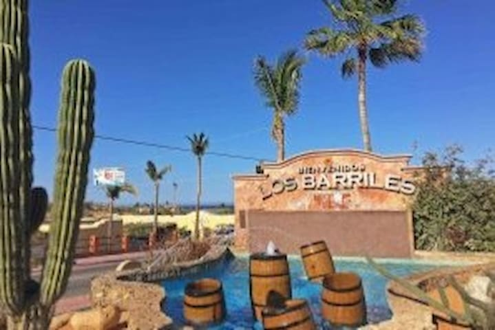 Studio Beach & Down Town location Los Barriles BCS