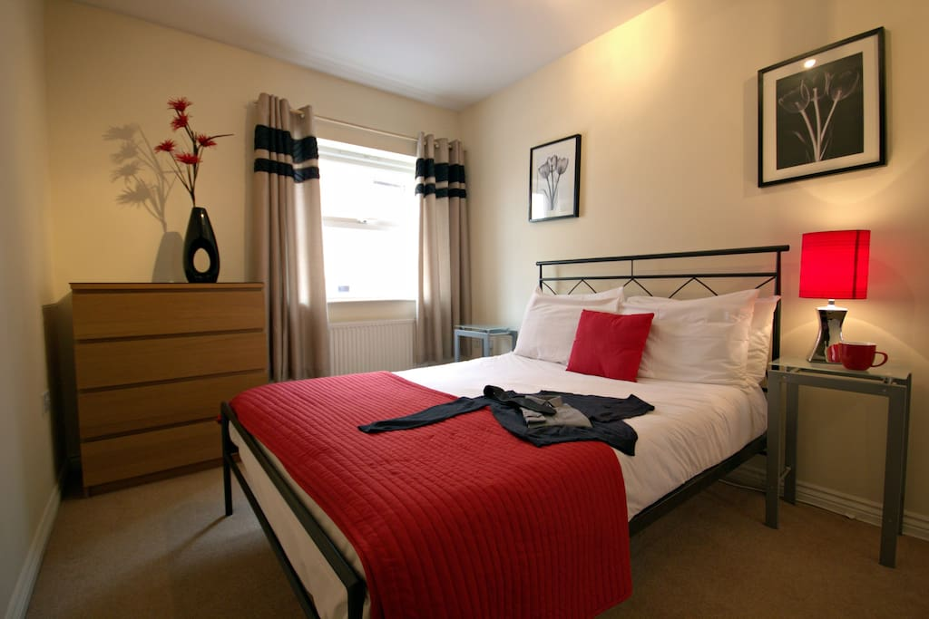 We have number of apartments in Barkham Mews, and the photos here are an example of the standard, and furnishings.
