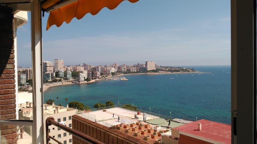 apartamento en frente del mar