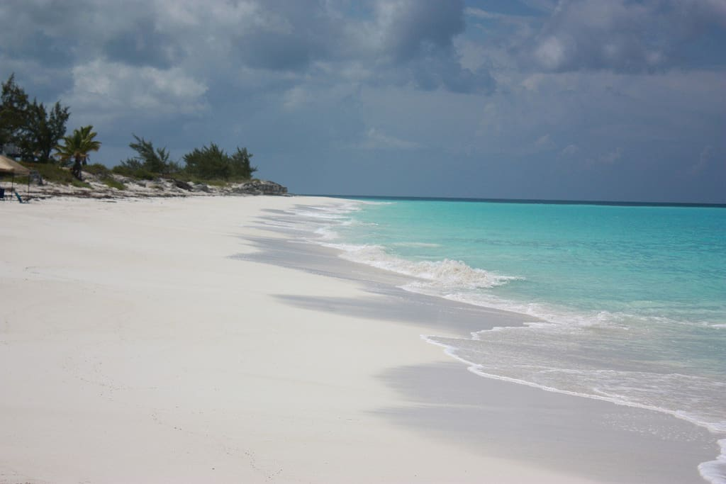 puderweißer Strand white sandy beach