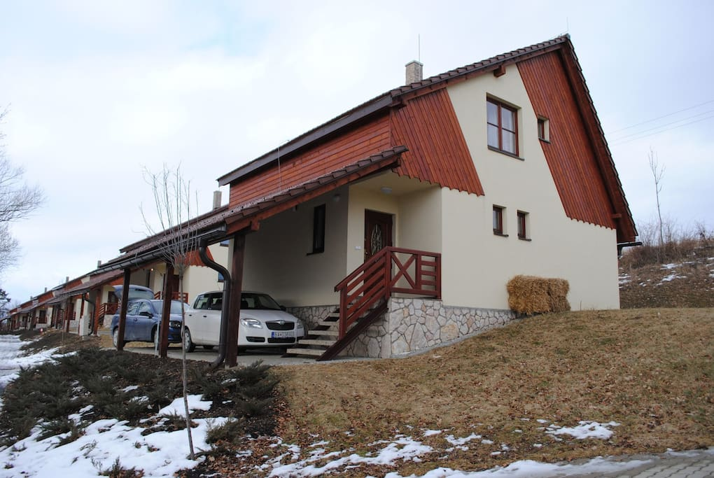 Chalet is 5km from areas main town Mikulas, and about 20 mins drive from Jasna, central Europe's top ski and snowboard resort