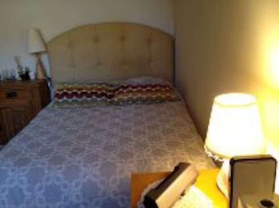 Full size bed foam mattress very comfortable for two guest