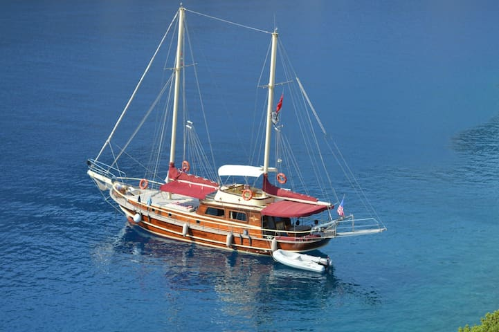 Private captain+cook Charter Gulete - Söğütköy