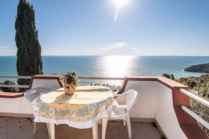 Charming sea view cottage in Gaeta - Gaeta - Casa