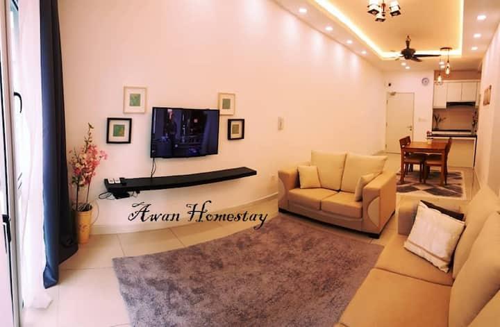 Awan Homestay @ Savanna SouthvilleCity Bangi