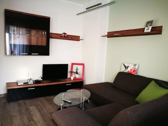 Charmantes Apartment vor Leipzig - Böhlen - Flat