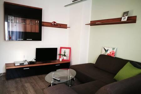 Charmantes Apartment vor Leipzig - Böhlen - Huoneisto
