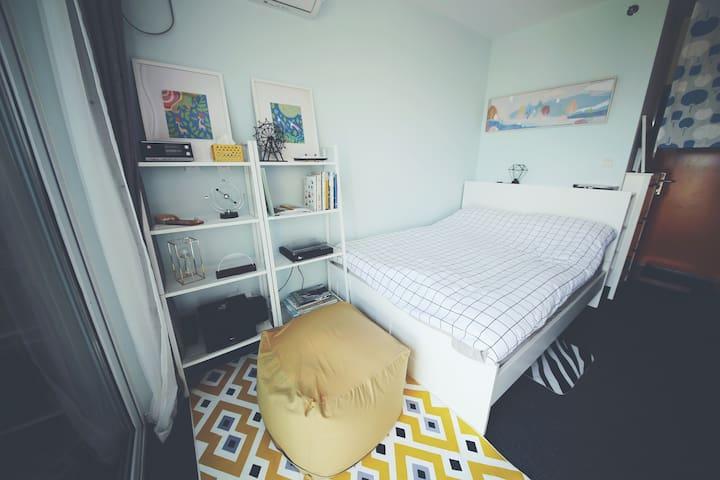 四季/丽思卡尔顿同款丝涟床垫,隐于紫竹的小而美。