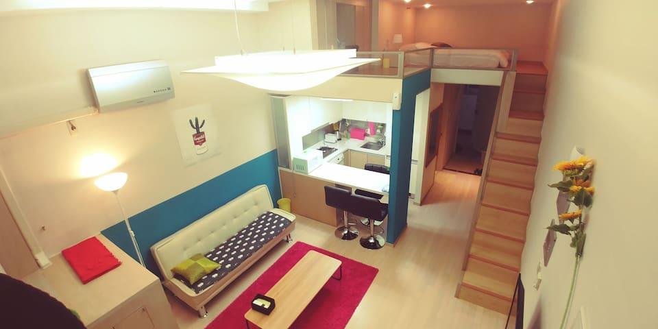 Ziska house-loft style-Baek seok station