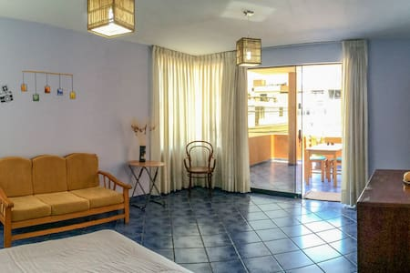 Spacious furnished apartment with private terrace