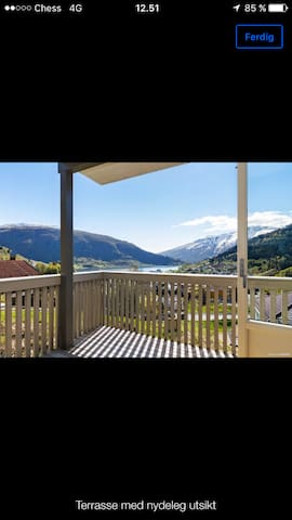 spectacular view of Sogndal