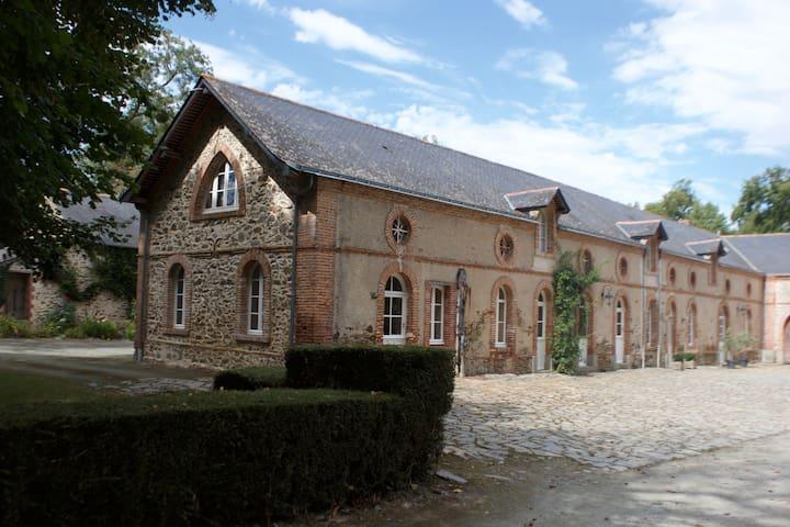 Vallée de la Loire - Maison de campagne, piscine