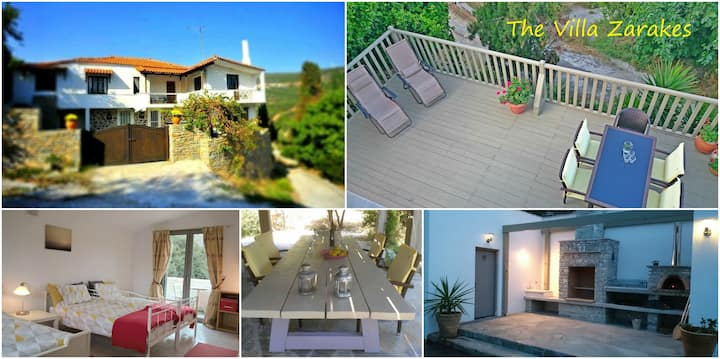 The Villa, Zarakes on the island of Euboea (Evia)