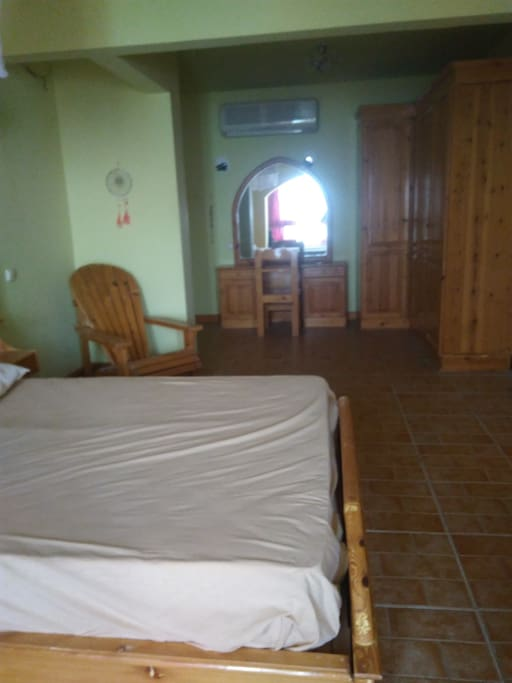 The biggest master bedroom in Dahab