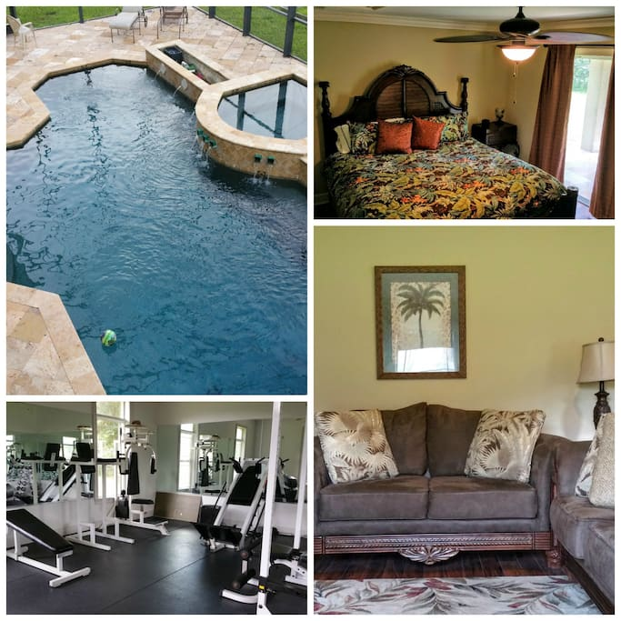 Privacy! Pool! Gym! Come stay in a luxury guesthouse!