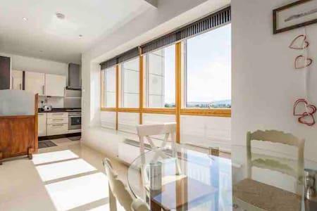 Stylish top floor apartment 2 level