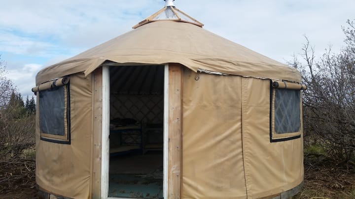 Alaskan Alpine Yurt