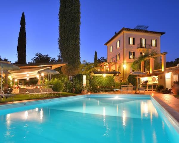 Relax in luxury at a beautiful resort in Italy
