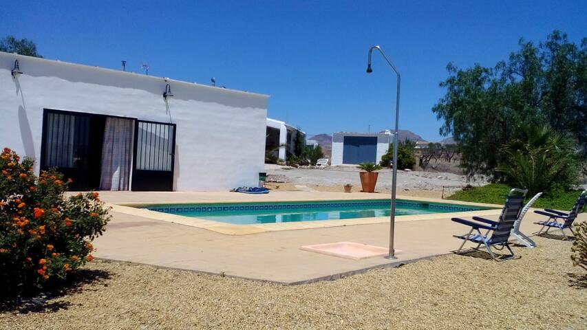 Casa completa en Albox con piscina privada