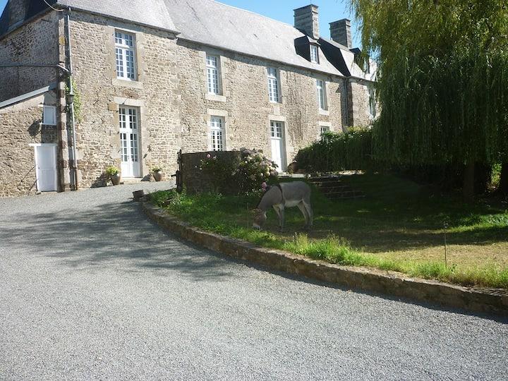 au Manoir du Mesnil-Aubert