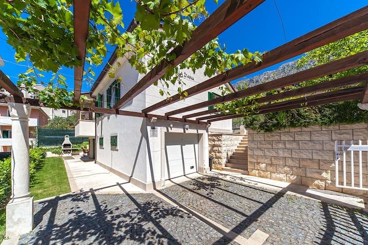 Cosy family villa Zivana,pet friendly - Dugi Rat - Vila