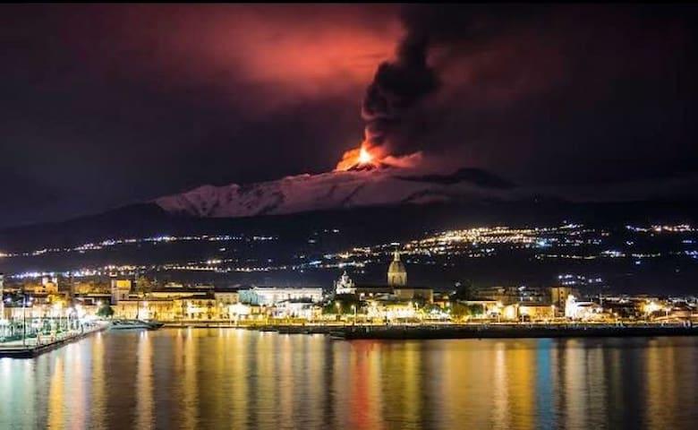 """Riposto Taormina """"Porto dell'Etna"""" - Mascali - Apartament"""