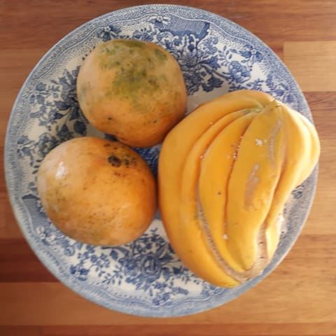 Les fruits bio chez ti'bichik...