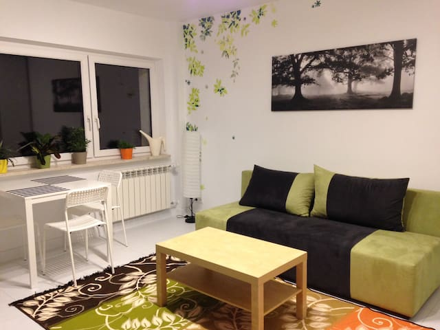 NATU Apartment - modern & cosy stay - Warsaw