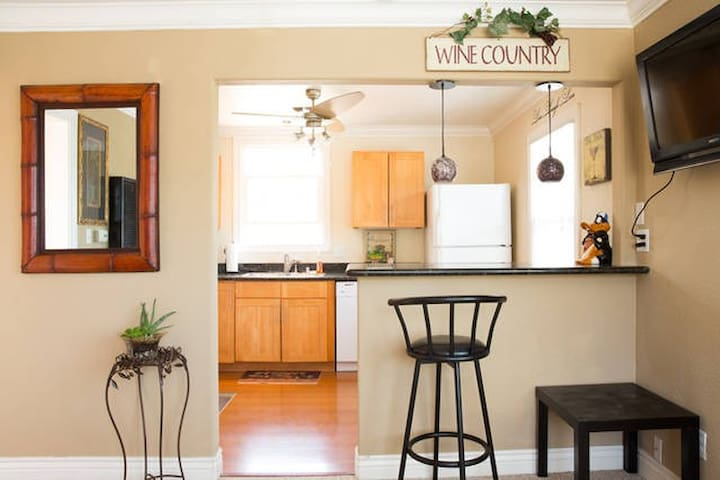 Great One Bedroom Apartment, near downtown RWC