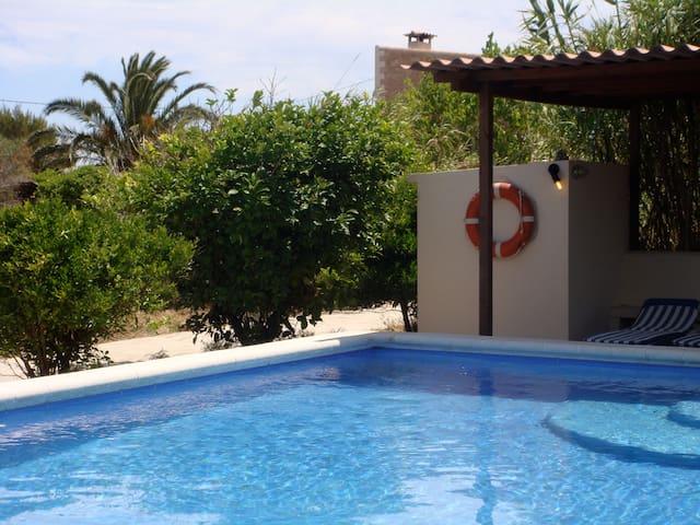 Formentera-clot des cau 3-Es pujols - Formentera - Huis