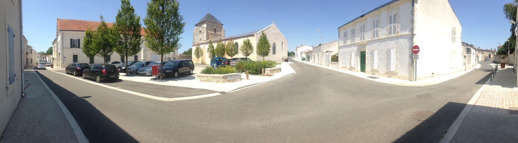 petit village plein de charme