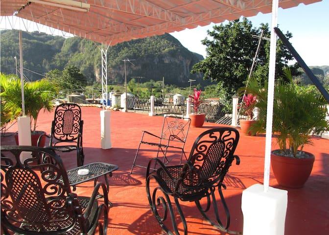 Casa Flora en Vinales..