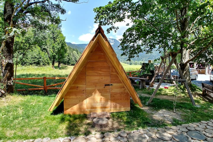 Cvet Gora - Glamping Tent with mountain view 2