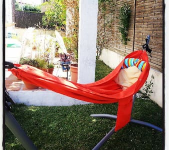 Casa con jardín a 25 min del centro - Villanueva del Ariscal - บ้าน
