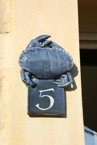 The Blue Crab - Port-en-Bessin-Huppain - Rumah