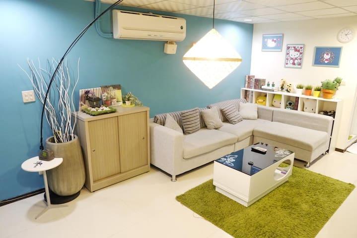 西寧部屋kitty&多拉a夢主題房,佈置中 - Distrik Wanhua - Rumah
