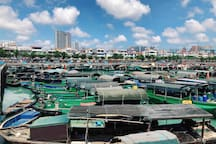 【海边人家•E时光】Room 2 海滩一线房,侨港风情街,国际客运港,海鲜聚集,公交直达火车站候机楼