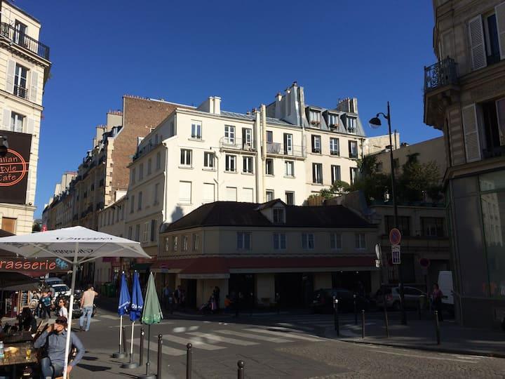 Mini loft au cœur du Paris branché