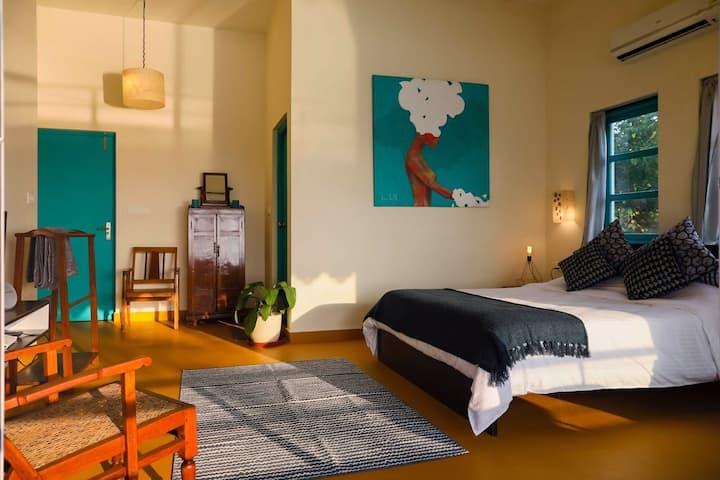 1/2/3 bedroom Villa on Ashvem/Mandrem Beach