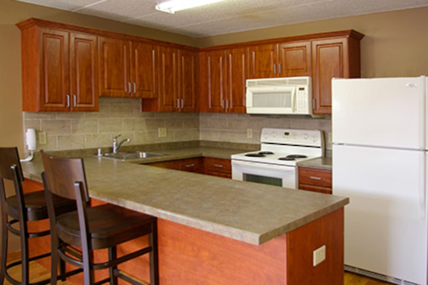 Utilities were redone over the summer! Now stainless steel appliances