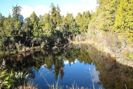 Ruru Hut getaway in NZ West Coast - Awatuna