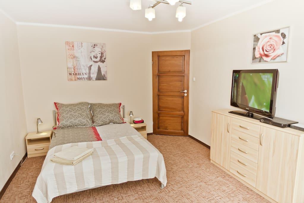 main bedroom/living room