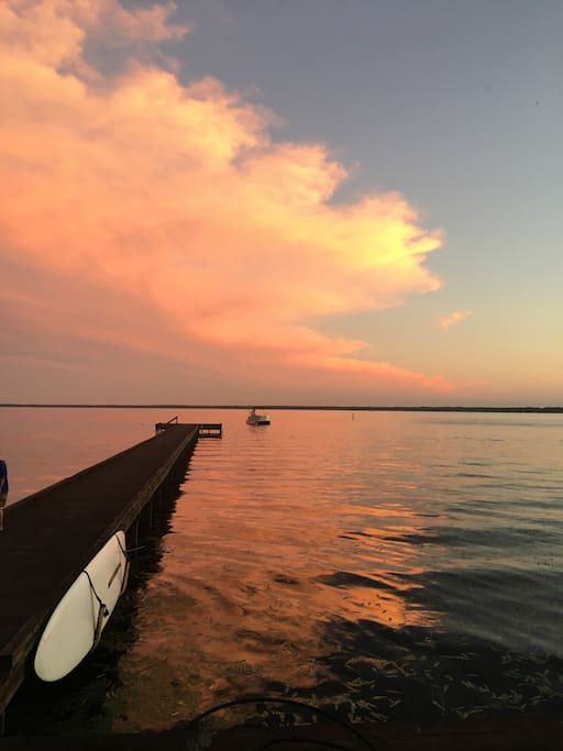 Lake Waccamaw has some of the most beautiful sunsets and sunrises!